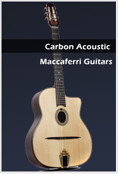Carbon Acoustic Maccaferri Guitars