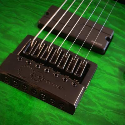 Vox Humana Custom Build Carbontech Electric 7 String Evertune2